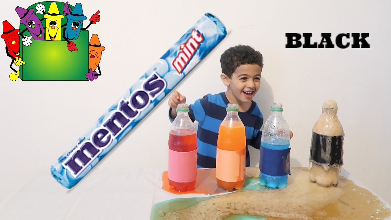 mentos experiment Mentos experiment we have a blast with you are you looking for a different way to celebrate the dad in your life we usually try to do an activity together for father's day.