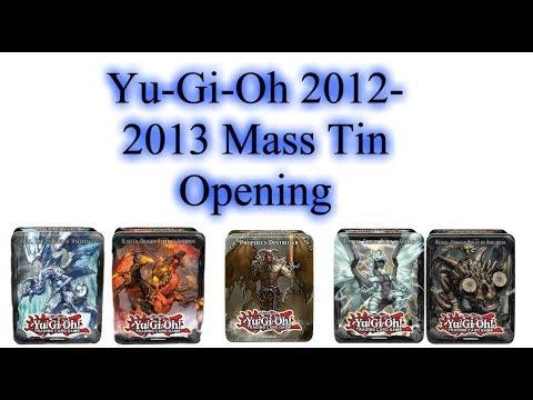 Yu-Gi-Oh 2012-2013 Mass Tin Opening