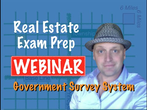 Real Estate Exam - Government Survey with Christine