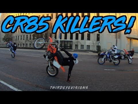 ROD Twin & Dirtbike Manny show you how to ride a 2stroke! (Philly Bikelife)