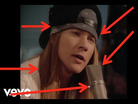 Guns N' Roses: Things You Missed In The Patience Music Video!