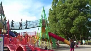 長良公園のコンビ遊具
