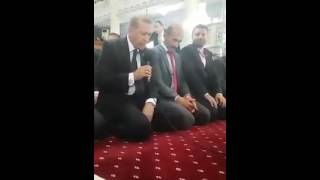 Cumhurbaşkanı Erdoğan Kur'an Okurken Böyle Görüntülendi