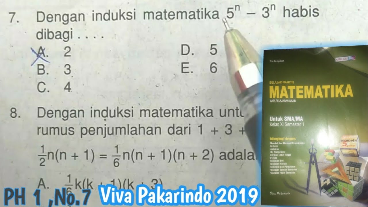 Pembahasan Notasi Sigma No 7 Ph 1 Viva Pakarindo 2019 Youtube