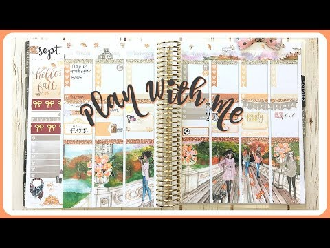 Plan With Me! Hello Fall | Erin Condren Planner
