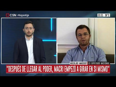 Entrevista al exdiputado Nicolás Massot en Hagan Algo