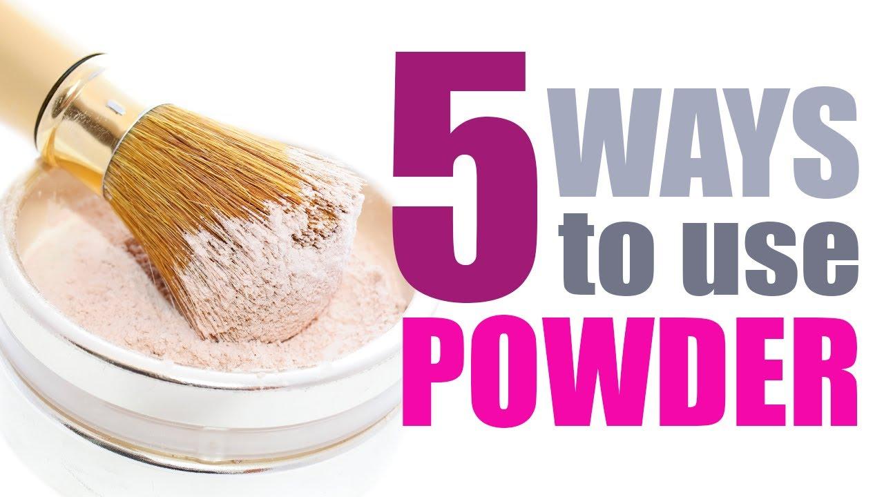 「how to use powder」的圖片搜尋結果