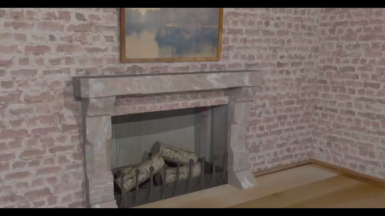 maya tutorial modeling a fireplace youtube