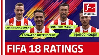 EA SPORTS FIFA 18 - 1. FC Köln Players Rate Each Other