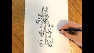 Draw Ice King