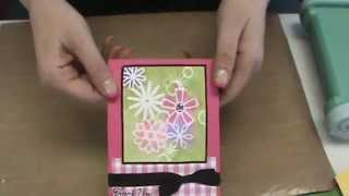 #100 Emboss With Coredinations & Memory Box Stencils By Scrapbooking Made Simple