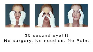 Look Younger Instantly With a 35 Second Eye Lift Exercise