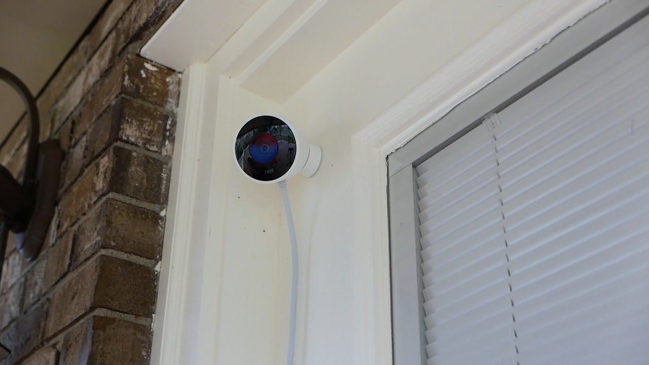 Nest Cam Outdoor 1080p Security Camera Review Youtube