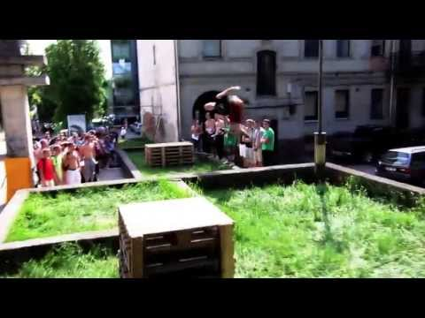 Lithuania- Kaunas. Extreme Zone Parkour and Freerun Freestyle Event! 2013