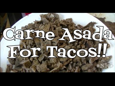 Carne Asada for Tacos Recipe 2018