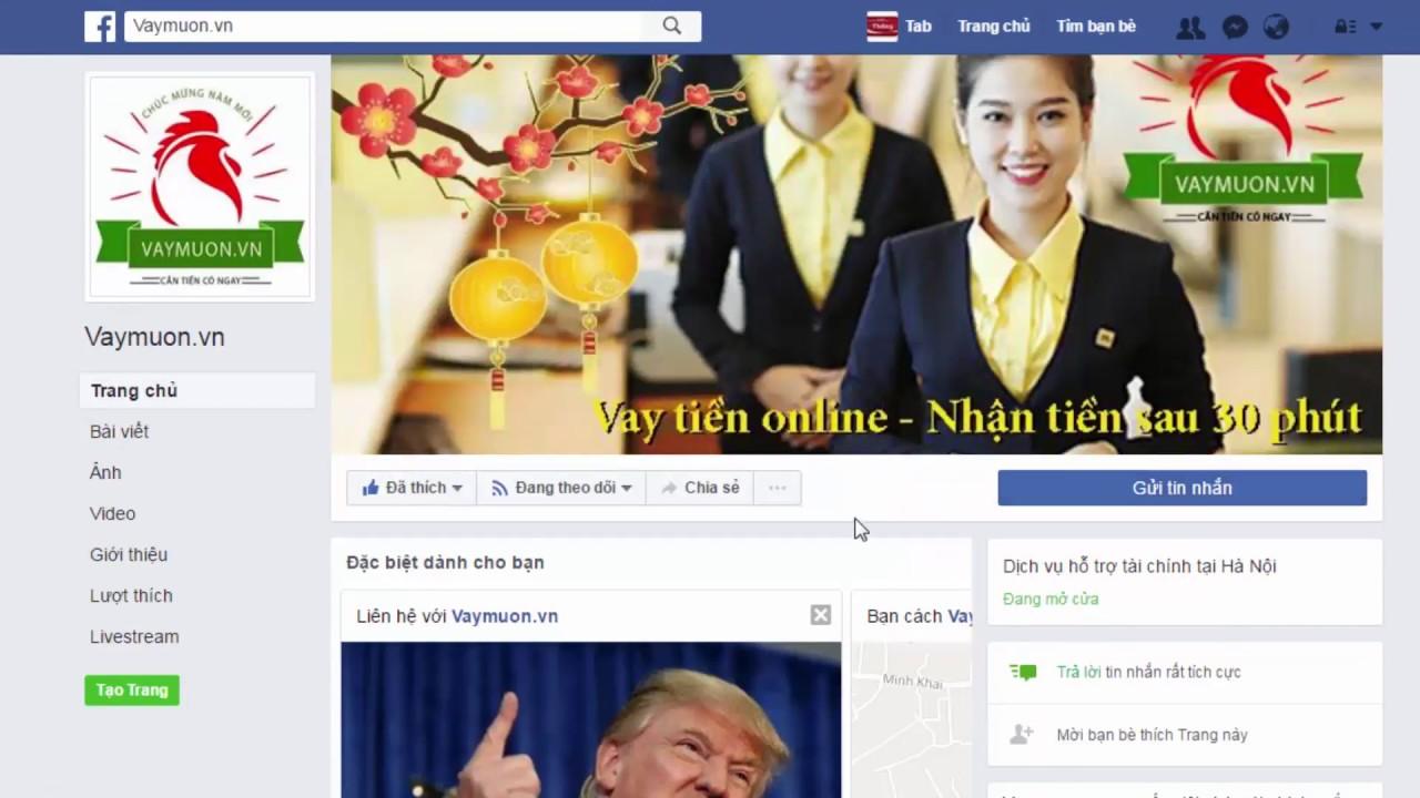 Hướng dẫn đăng ký Vaymuon.vn – Vay tiền online
