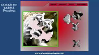 Jigsaw Puzzles - Endangered Animals - Sheppard Software