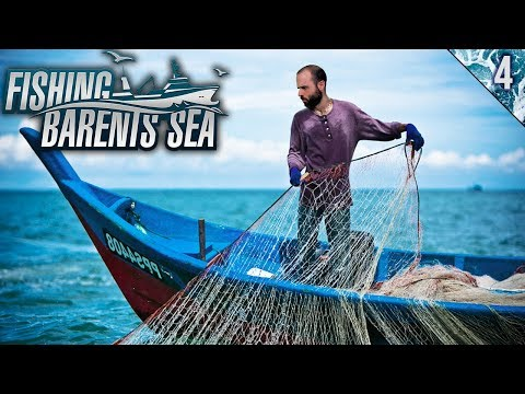 PESCA CON RED EN MI NUEVO BARCO | Fishing: Barents Sea | Gameplay Español