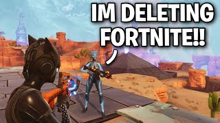 Il a supprimé fortnite après avoir échoué à m'arnaquer! 🤣 (Scammer Get Scammed) Fortnite Save The World
