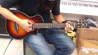 yamaha APX-T2 旅行電木吉他 插電簡單測試