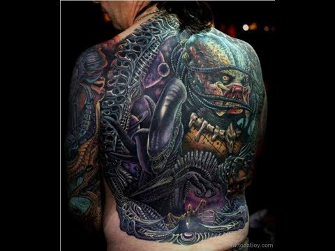 96 Alien Tattoo Designs Ideas