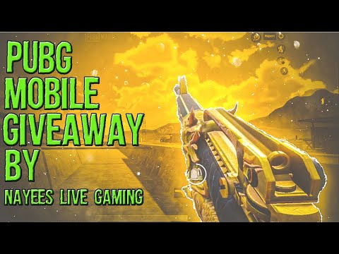 Pubg Mobile Live | Road To 2k | Nayees Live Gaming