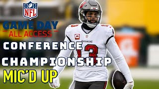 "NFL Conference Championship Mic'd Up! | ""There's a Ceremony? I'm New to This"" 