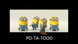 Minions BANANA POTATO Lyrics Despicable Me 2 Mi Villano Favorito 2