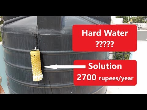 Hard Water Conditioner - Budget Solution Hard Water India, Water Softener Option, Hard Water To Soft