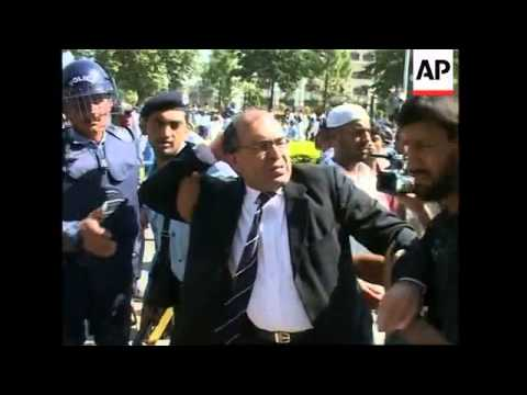 WRAP Lawyers arrested, anti-Musharraf rally, clashes, Lahore demo, Karachi protest