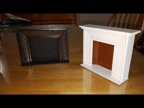 DIY Miniature Fireplace