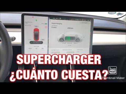 ¿Cuánto Cuesta Cargar En Un Supercharger De TESLA?