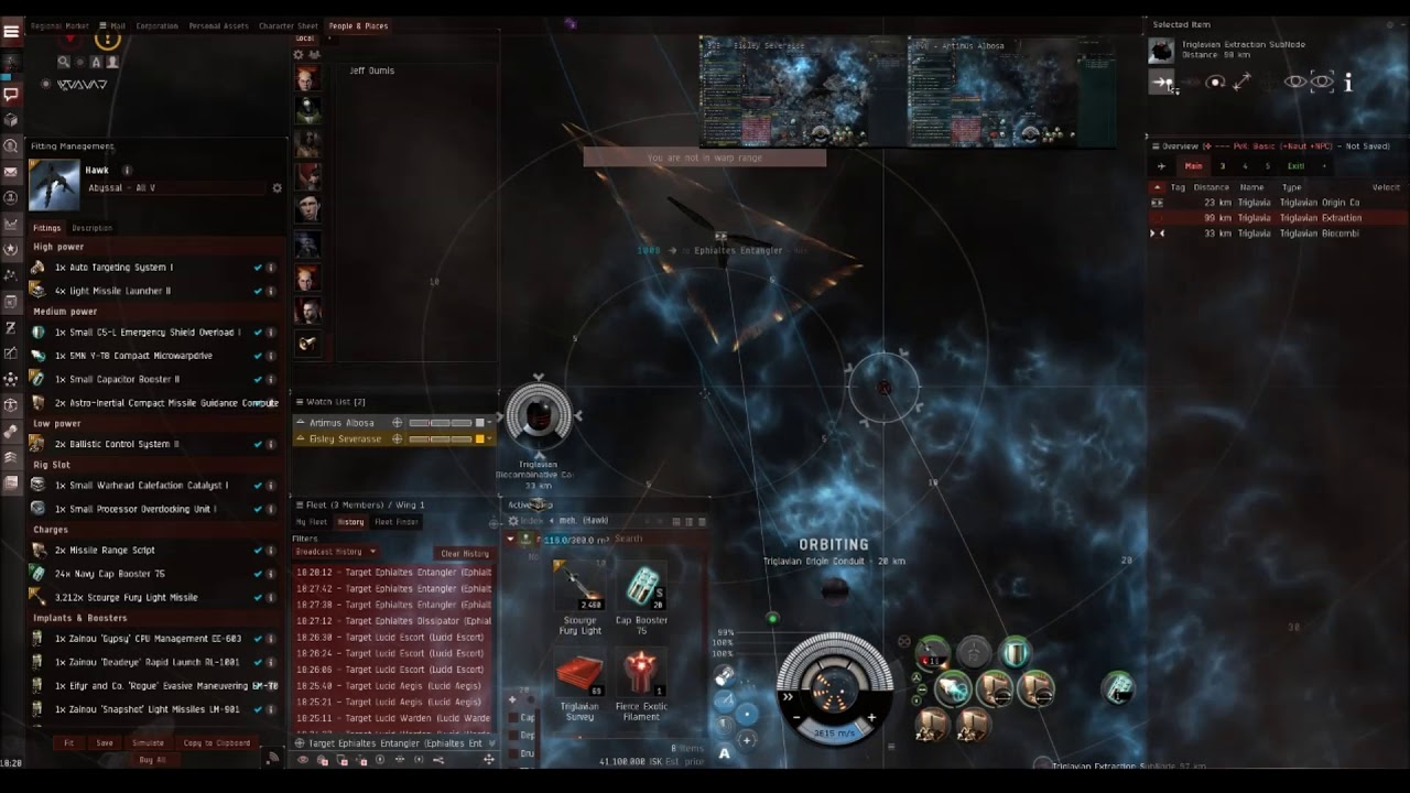Farming T4 Frigate Abyssal Sites | Easy and Multiboxxable | Eve Online by  Artimus__Antics