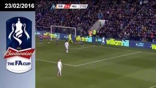highlight fa cup shrewsbury 0 3 manchester united