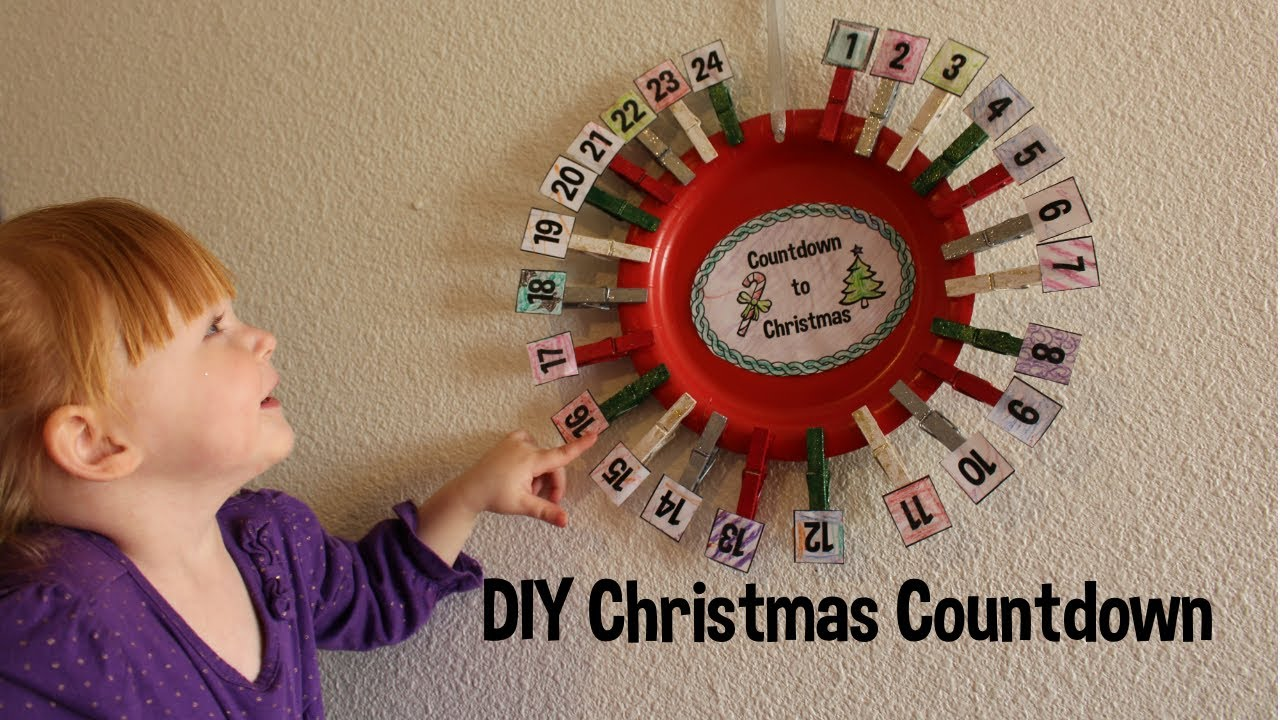 diy christmas countdowns advent how to youtube