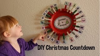 DIY Christmas Countdowns! Advent! How to! Thumbnail