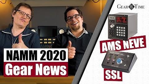 Gear News NAMM 2020 - SSL USB Interface 2+ & AMS Neve RMX 16 | Gear Time