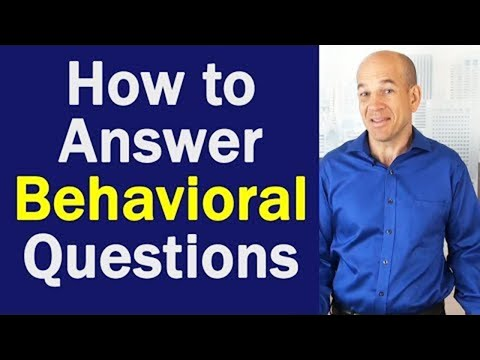 best way to answer behavioral interview questions youtube