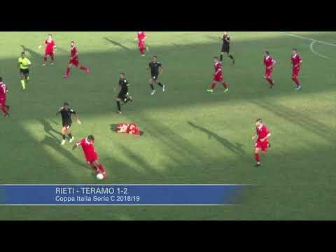 Rieti - Teramo 1-2 (Coppa Italia Serie C)