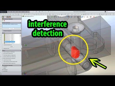 SolidWorks | Static & Dynamic Interference Detection (Çakışma Testi Nasıl Yapılır?)