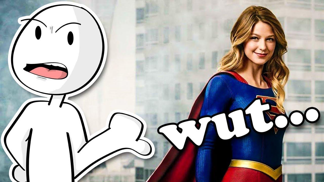 Supergirl is a weird show...