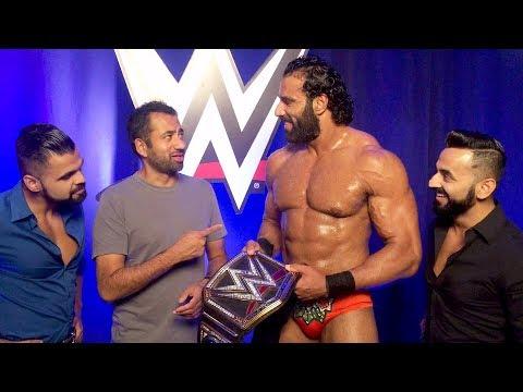 Kal Penn meets WWE Champion Jinder Mahal: Exclusive, Aug. 11, 2017