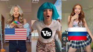 Simple-Dimple, Pop It, Squish(AMERICA VS RUSSIA version)   TikTok Compilation