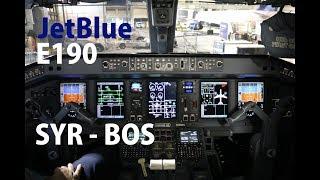 JetBlue Embraer 190 Syracuse - Boston