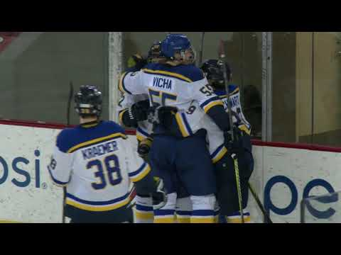 AAA Blues U18 Top Plays On 1/7/18 Vs. Ohio Blue Jackets.