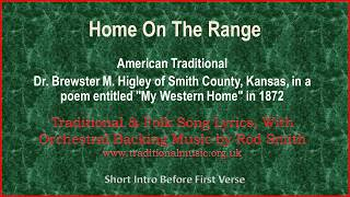 Home On The Range - Traditional Lyrics & Orchestral Music