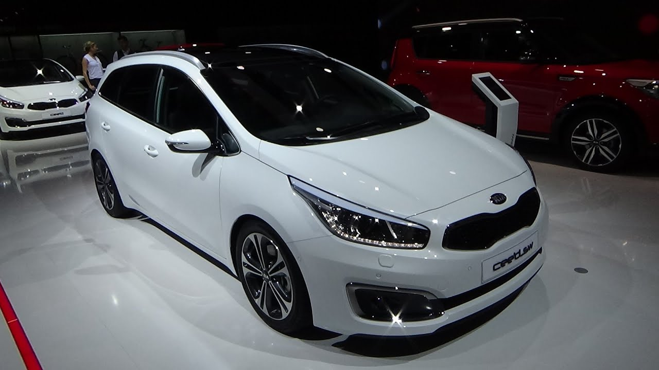 2016 kia cee 39 d sw exterior and interior iaa frankfurt 2015 youtube. Black Bedroom Furniture Sets. Home Design Ideas