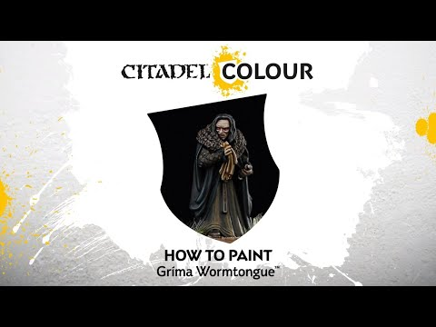 How to Paint: Gríma Wormtongue™