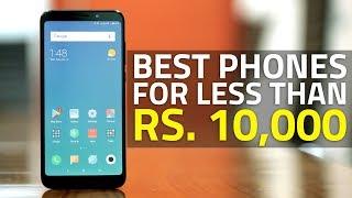 Best Smartphones Under Rs. 10,000