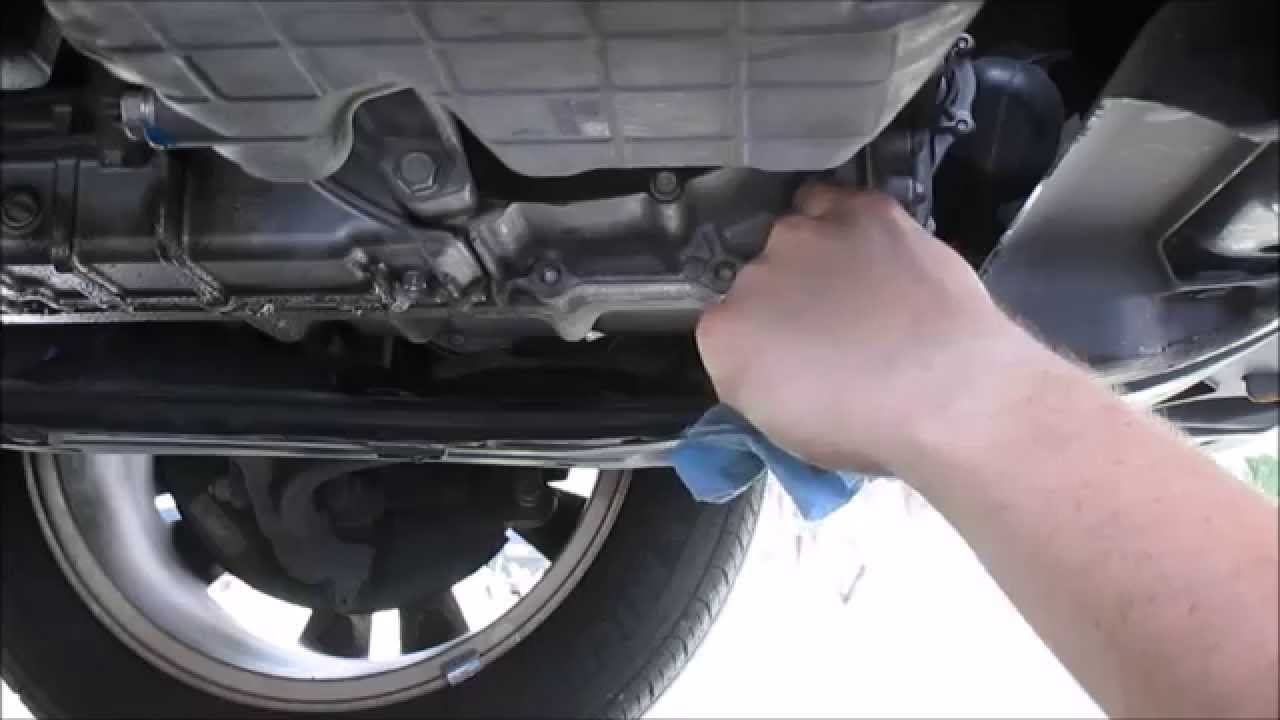 Honda Accord Automatic Transmission Fluid Change - YouTube